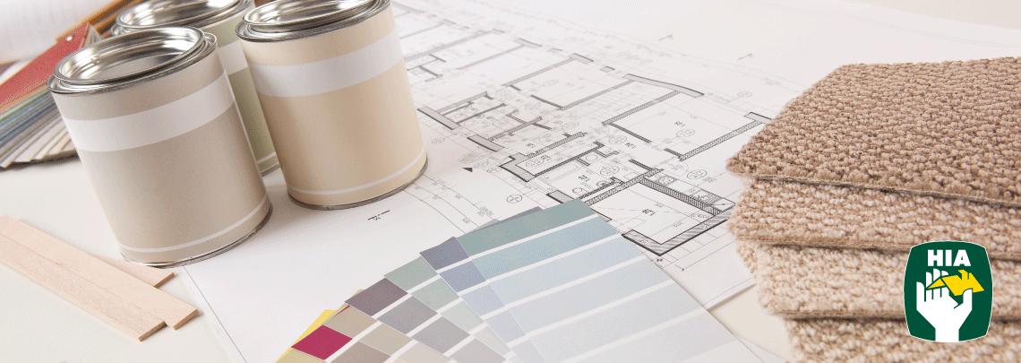 interior design HIA paint