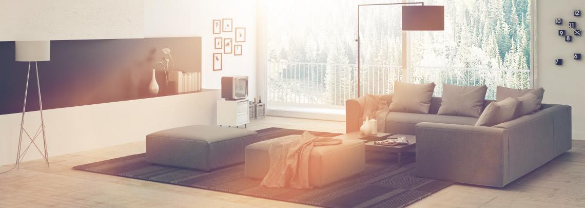 Sunny living area